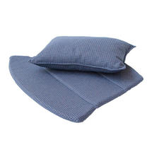 Breeze lounge chair cushion set - Blue
