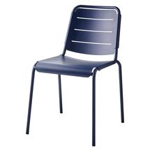 Copenhagen city chair, stackable - Midnight blue