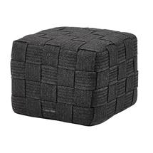 Cube Footstool - Dark Grey