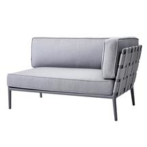 Conic Air Touch 2 Seater Sofa - Left Module - Light Grey
