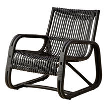 Curve lounge chair INDOOR - Black