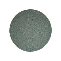 Defined carpet, dia. 140 cm - Green