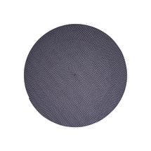 Defined carpet, dia. 140 cm - Midnight blue