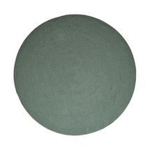 Defined carpet, dia. 200 cm - Green