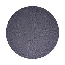 Defined carpet, dia. 200 cm - Midnight blue