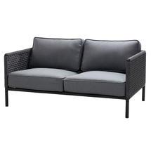 Encore AirTouch 2 Seat Sofa - Lava Grey / Dark Grey