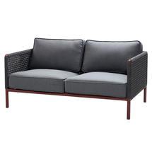 Encore AirTouch 2 Seat Sofa - Bordeaux / Dark Grey
