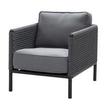 Encore AirTouch Lounge Chair - Lava Grey / Dark Grey