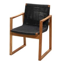 Endless chair - Teak/Dark Grey