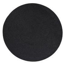 Circle carpet, dia. 140 cm - Dark grey