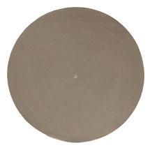 Circle carpet, dia. 140 cm - Taupe