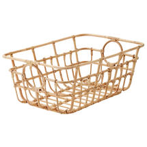 Carry Me Rattan Basket Low