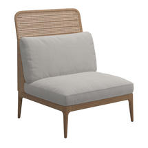 Lima High Back Centre Unit- Blend Linen