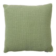 Divine scatter cushion, 50x50x12 cm - Olive green