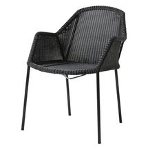 Breeze Stackable Dining Armchair Black - 6 for 5 offer