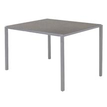 Pure Dining Table 100cm Square Light Grey - Concrete Grey Top