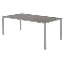 Pure Dining Table 200 x 100cm  Light Grey - Concrete Grey Top
