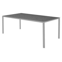 Pure Dining Table 200 x 100cm  Light Grey- Nero Top