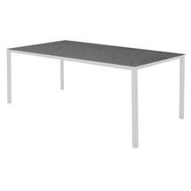 Pure Dining Table 200 x 100cm  White - Nero Top