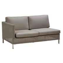 Connect 2 Seat Right Module - Taupe Cushions