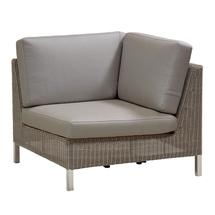 Connect Corner Module - Taupe Cushions