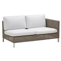 Connect 2 Seat Left Module - White Cushions