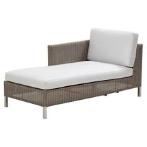 Connect Chaise Lounge Right Module - White Cushions