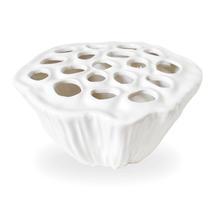 White Lotus Vase