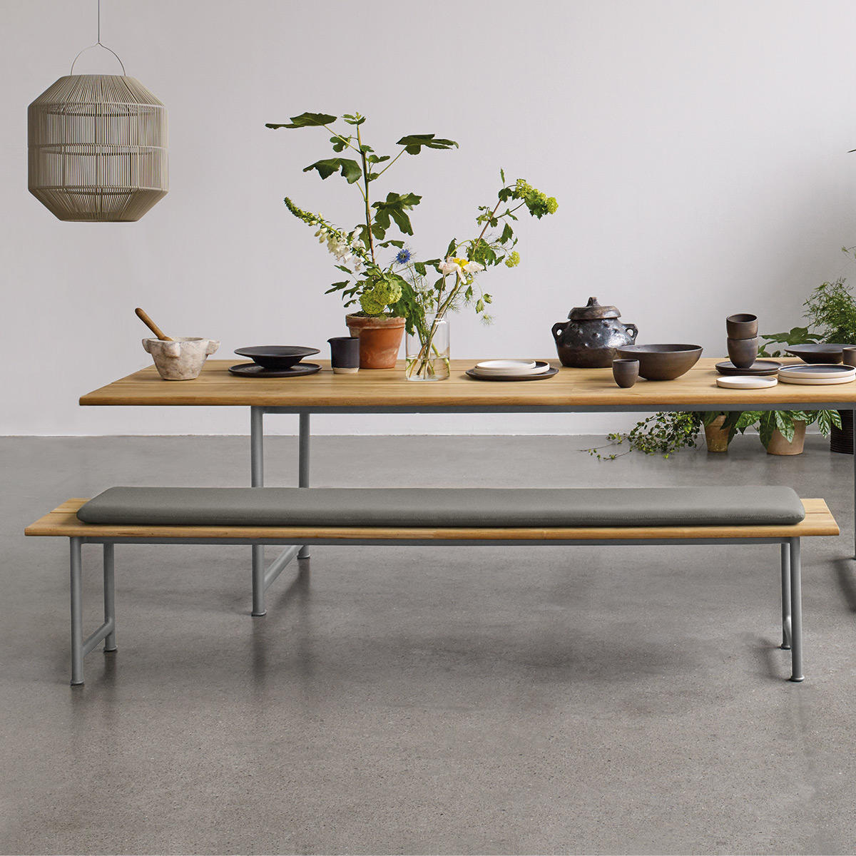 Buy Seat Cushion For Atmosphere Dining Bench By Gloster The Worm That Turned Revitalising Your Outdoor Space