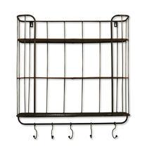 Metal Caged Industrial Shelf Unit