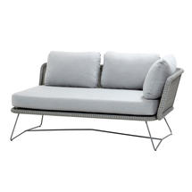Horizon 2-Seater Sofa Left Module - Light Grey