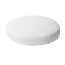 Kingston footstool large cushion - White