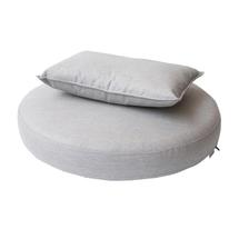 Kingston sunchair cushion set - Light grey