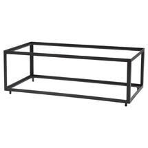 Level Coffee Table Frame Rectangular - Lava grey