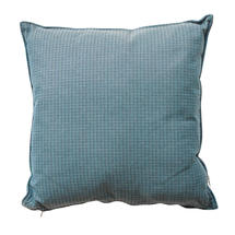 Link scatter cushion, 50x50x12 cm - Turquoise