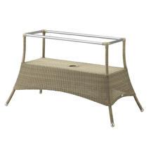 Lansing dining table base large - Taupe