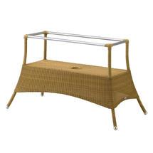 Lansing dining table base large - Natural