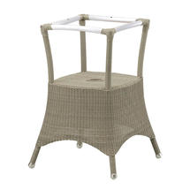 Lansing dining table base small - Taupe