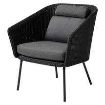 Mega Dining Chair with Grey Cushions