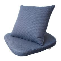 Moments Dining Chair Cushion Set - Blue