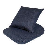 Moments chair cushion set - Dark blue