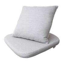 Moments chair cushion set - Light grey