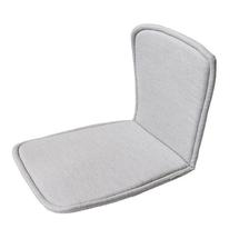 Moments chair seat/back cushion - Light grey
