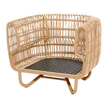 Nest Indoor Club Chair Frame - Natural