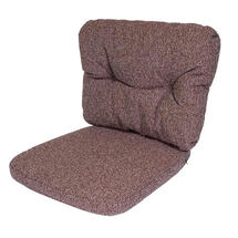 Ocean Chair Cushion Set - Dark Bordeaux