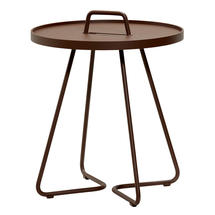On-the-move side table small - Mocca