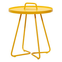 On-the-move side table small - Yellow