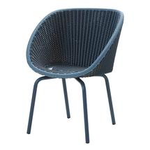 Peacock Dining Chair -  Midnight / Dusty blue