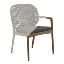 Protective Cover for Kay Dining Chair with Arms