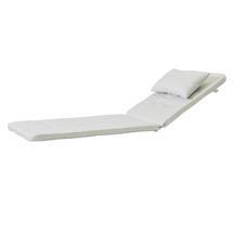 Presley sunbed cushion set - White